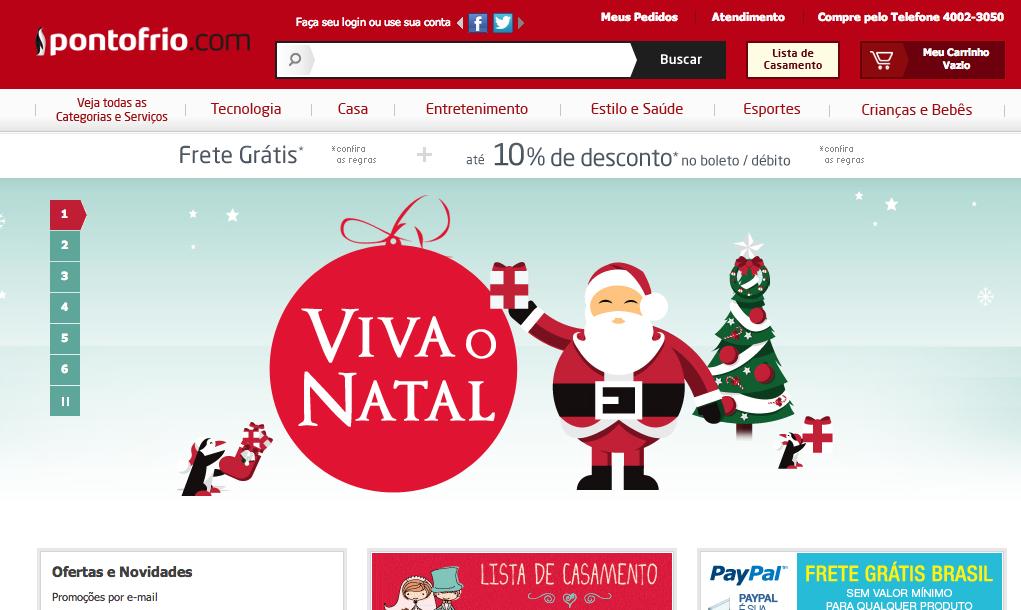 www.PontoFrio.com.br
