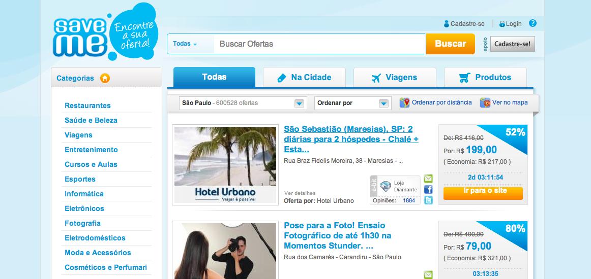 www.SaveMe.com.br – Save Me