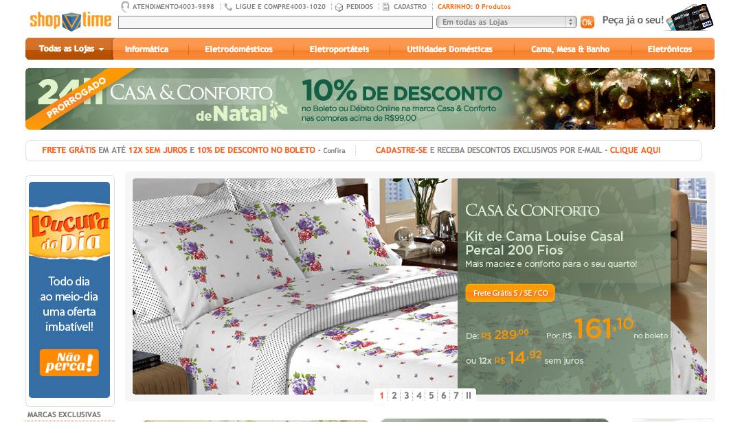 www.ShopTime.com.br