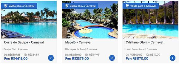 Hotéis e Pousadas do Clickon.com.br