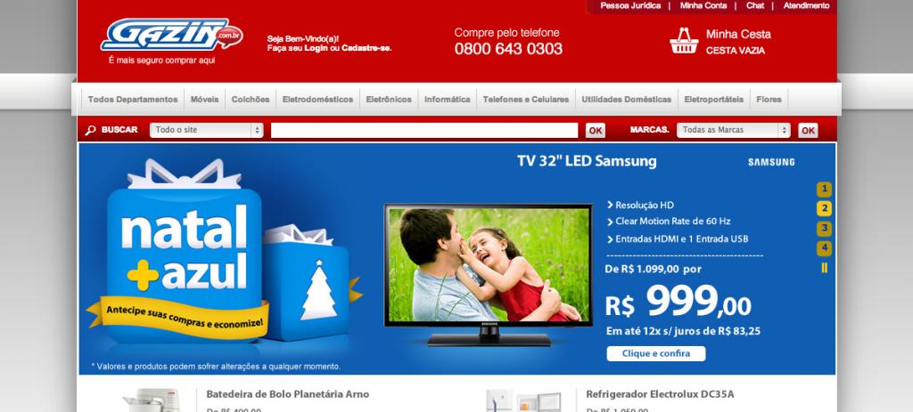 www.Gazin.com.br