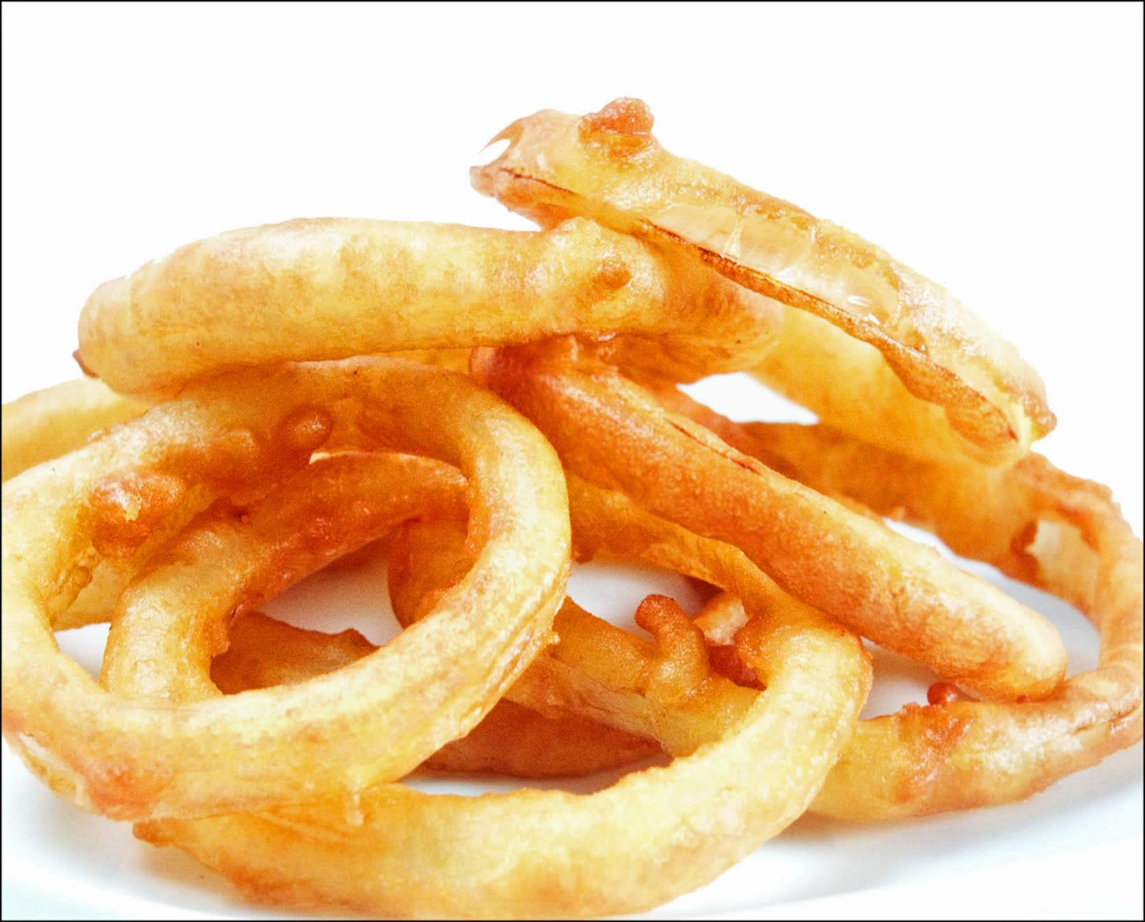 Receita de Onion Rings
