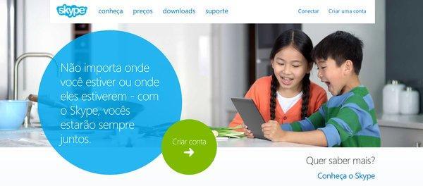 skype-criar-conta